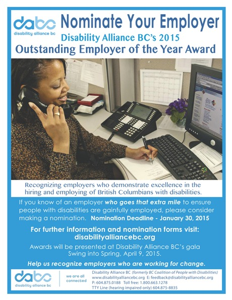2015 DABC Employer Award