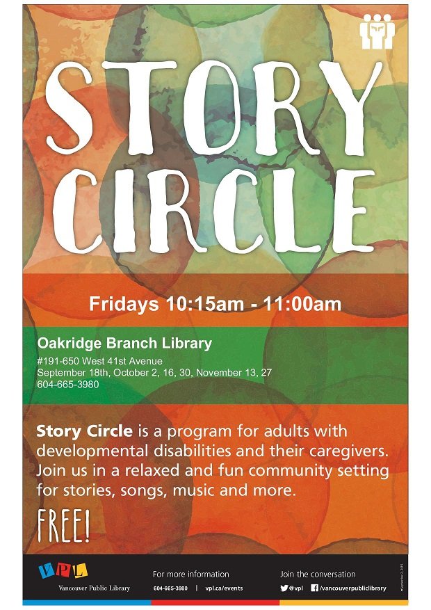 VPL - MC - Story Circle Poster - TEMPLATE - 2015-01 to 2015-12 - Customi...