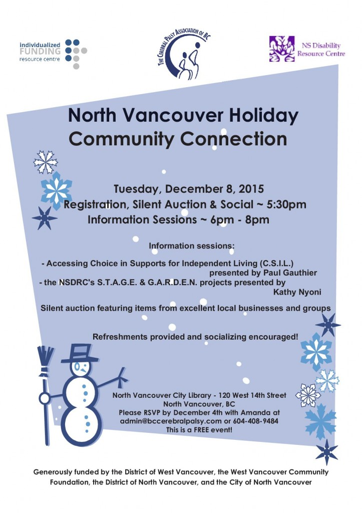 NSCC Holiday Poster - 2015