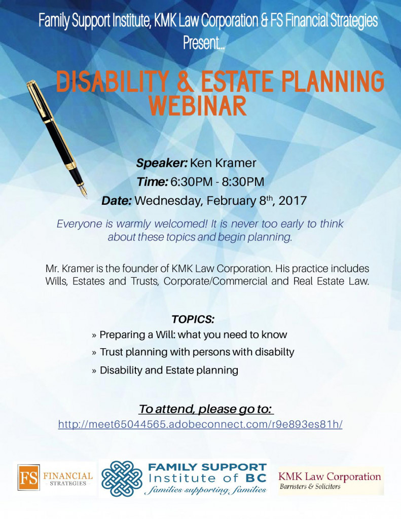 DISABILITY AND ESTATE FINAL