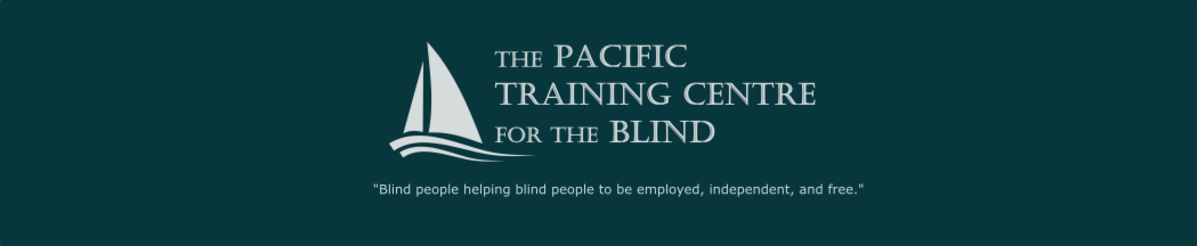 pacific training centre for the blind logo